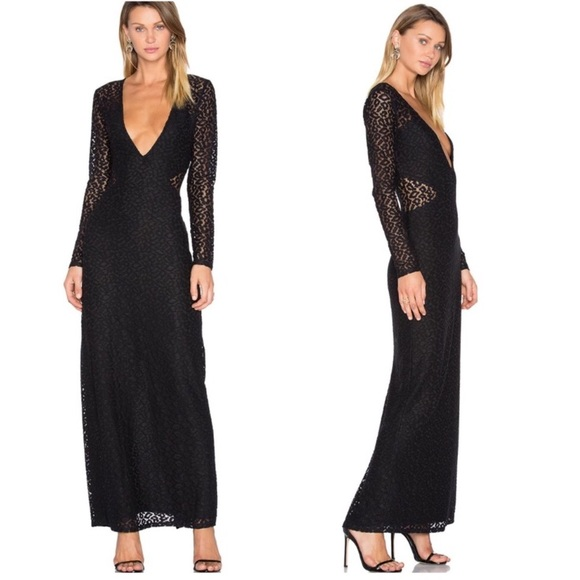 House of Harlow 1960 Dresses & Skirts - House of Harlow lace body con maxi cocktail dress